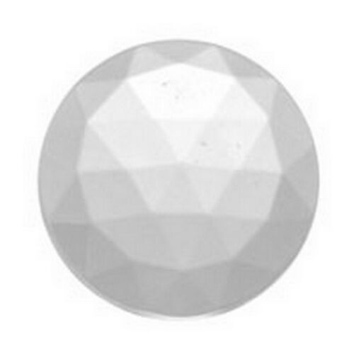 JEWEL-15mm ROUND-CRYSTAL Stained Glass Supplies FREE SHIPPING 3476