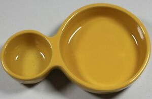 Coche-Stoneware-by-Eurogress-Yellow-Dip-amp-Vegetable-Soup-amp-Cracker-Bowl
