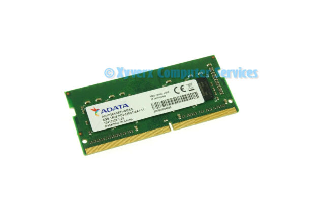 Adata 8gb Sodimm Hp Dell Apple Laptop Memory Ram Ddr4 A01p24hc8t1