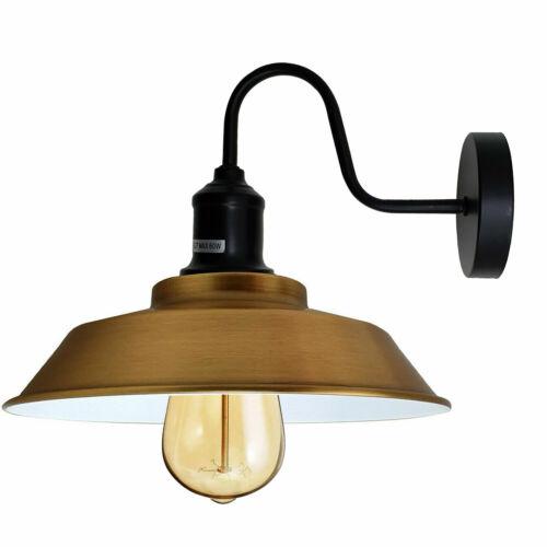 Modern Vintage Industriel Couleur Mural Lumières Rustique Appliques Lampes Luminaire
