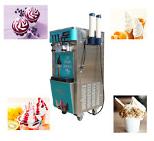 Commercial Countertop Frozen Soft Ice Cream Machine 43ltank2 Stainless 210051