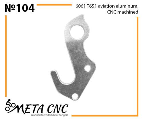 META CNC analogue PILO D578 Derailleur hanger № 104