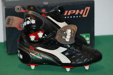 vintage diadora MORPHO DOUBLE ACTION baggio NOS football boots uk 6.5 90s BNWT