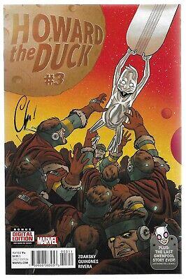 Howard the Duck #3 Marvel Ringmaster Talos the Untamed Aunt May Chip Zdarsky VF