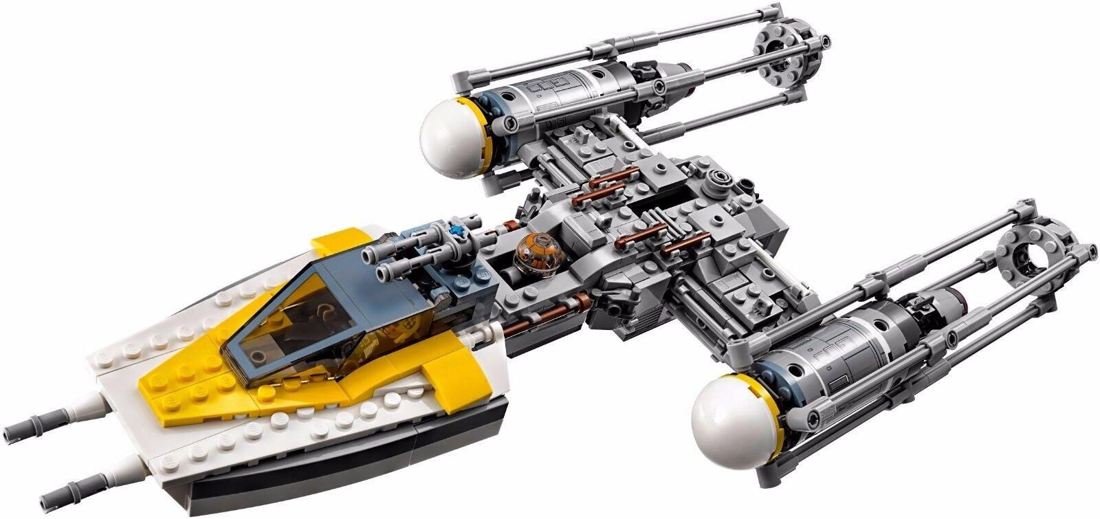 LEGO  75172 Y-Wing estrellacombatiente™ - estrella guerras 8-14anni  prezzo all'ingrosso