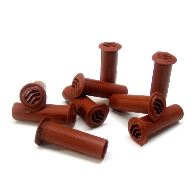 10 X Terracotta Drill Weep Vents Round Vent Cavity Retaining Rendered Walls for sale online
