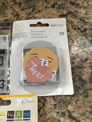Scrapbooking Stickers//stamps Lot  Words Stencils Stickers Frames Borders