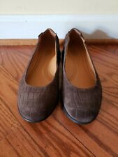 NEW #0635 Samuel Hubbard Women/'s Freedom Dance Midnight Blue Croc Suede Shoes