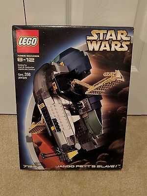 LEGO Star Wars JANGO FETT'S SLAVE I 7153 Boba Fett Sealed Set Episode II Rare