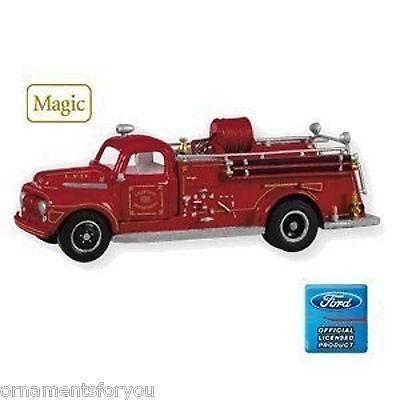 Hallmark 2010 1951 Ford Fire Engine Fire Brigade Series