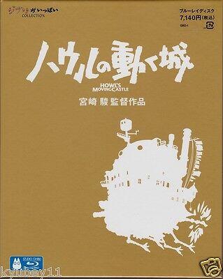 New Howl's Moving Castle Blu-ray Japan Anime English Subtitle Ghibli VWBS-1288