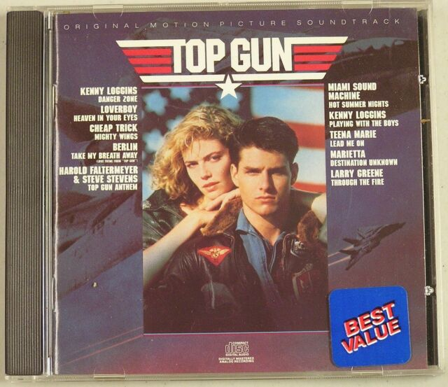 Top Gun Original Motion Picture Soundtrack -LIKE NEW- CD13 - $7.00