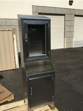 Vintage Shampaine Stainless Steel Medical Cabinet 20 W X 70 Tall X 185 Deep