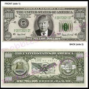 Image Is Loading 8 Lot Donald Trump 45th President 2017 U S