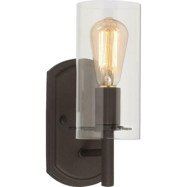 Regina 1-Light 4.25 In. Antique Bronze Indoor Bathroom