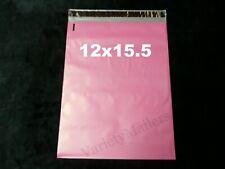 22 Pink Poly Bag Mailers 12x155 Large Self Sealing Postal Shipping Envelopes