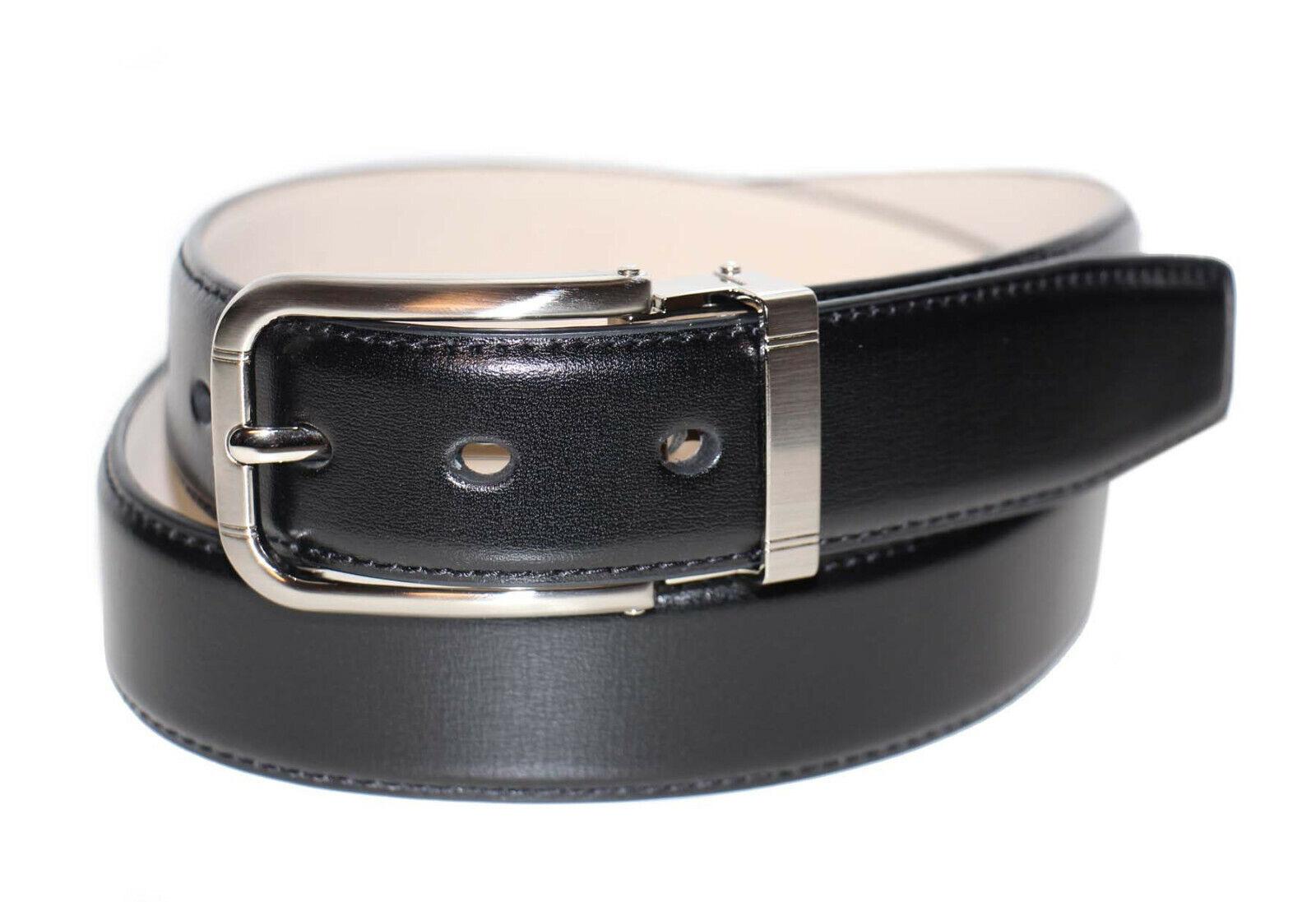 Anthoni Crown Belt Herren Gürtel Ledergürtel Größe 90