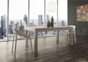Legno Bianco Frassinato : Tavolo da pranzo allungabile mufabiomu in legno bianco frassinato