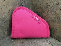 Bulldog Pink Pistol Rug - Extra Small 7 X 6 No Handles Full Length Zipper