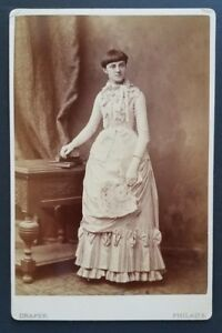 Young-Girl-with-Short-Bowl-Haircut-Dress-Philadelphia-Antique-Cabinet-Photo-1890