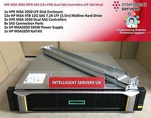 HPE-MSA-2050-48TB-SAS-12x-4TB-dos-controladores-SAS-LFF-SAS-Head-Q1J28A