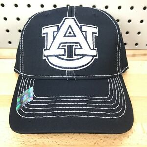Auburn Tigers NCAA SEC College Sports TOW One-Fit Stretch Fitted Cap NWT Hat S/M