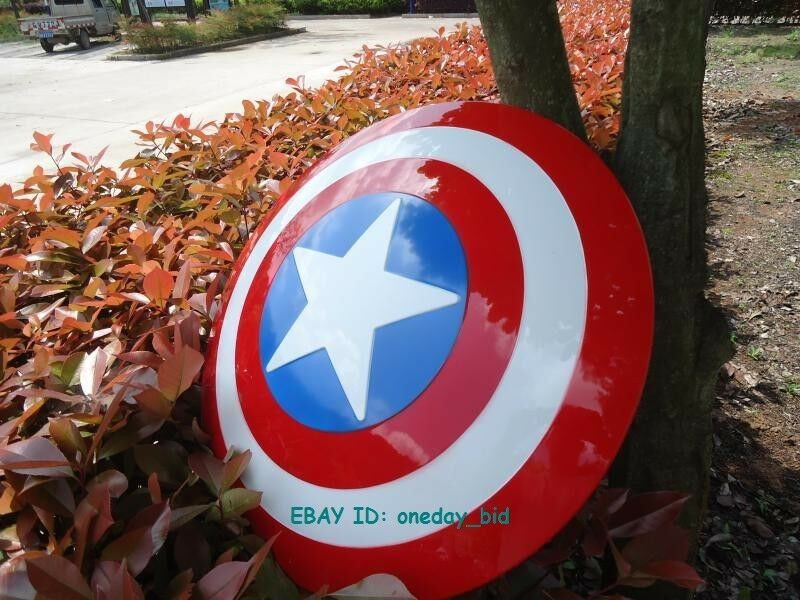 NEW  The Avengers Captain America ABS Shield For Cosplay 1 1 Scale  NICE GIFT