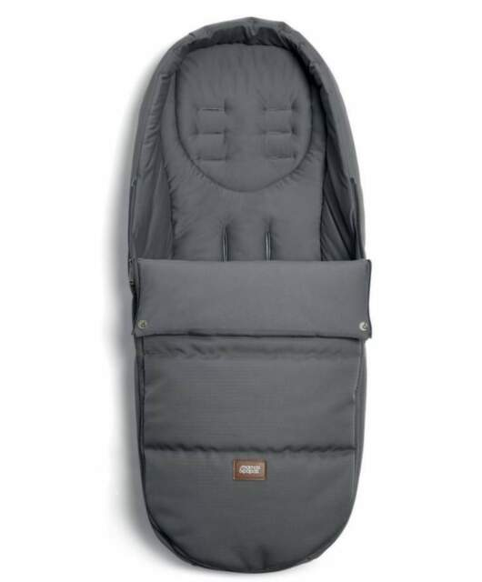 Mamas /& Papas Cold Weather Plus Pushchair//Buggy Footmuff Grey