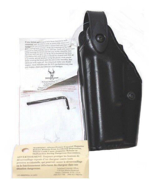 Safariland 6280-83 Glock 17 22 mano izquierda nivel II funda retención mid-ride Nuevo