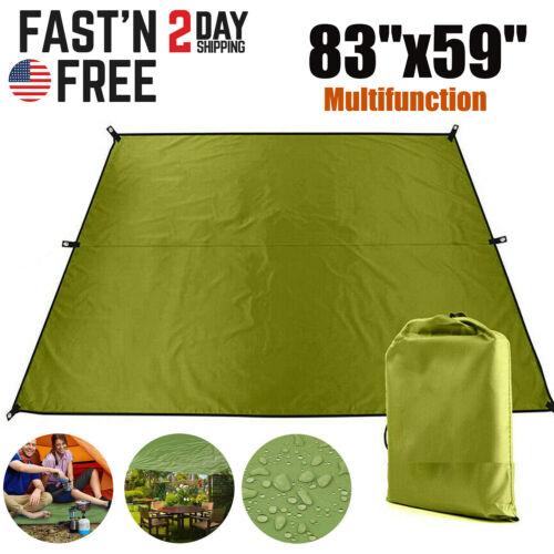Tent Tarp Sun Shade Rain Shelter Beach Camping Picnic Pad Wa