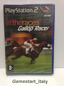 ATTHERACES-GALLOP-RACER-PS2-VIDEOGIOCO-NUOVO-SIGILLATO-NEW-SEALED-PAL