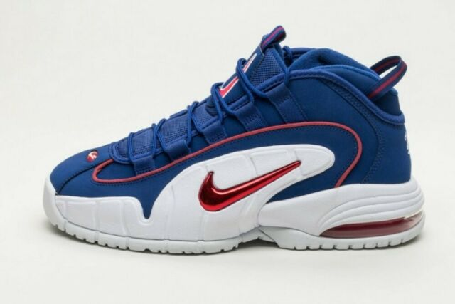 Nike Air Max Penny 685153 400 Royal Blue Red White DS Size 10