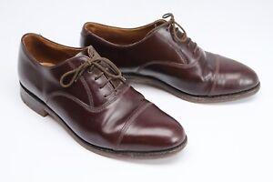 9 Ville Jones Casquette Hommes Bottiers D Brun Cuir Habillées Chaussures Alloa vrvqw