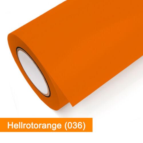 KlebefolieOracal 651-036 Hellrotorange glänzend mattab 1 lfmgünstig