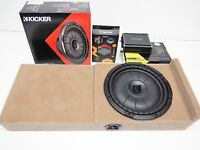 2004 To 2008 Ford F150 Supercab Kicker Subwoofer Enclosure Speaker Box Ext Cab