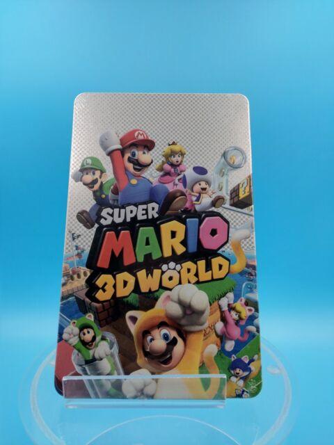 neuf jeu video nintendo switch steelbook super mario 3d world ( sans jeu )