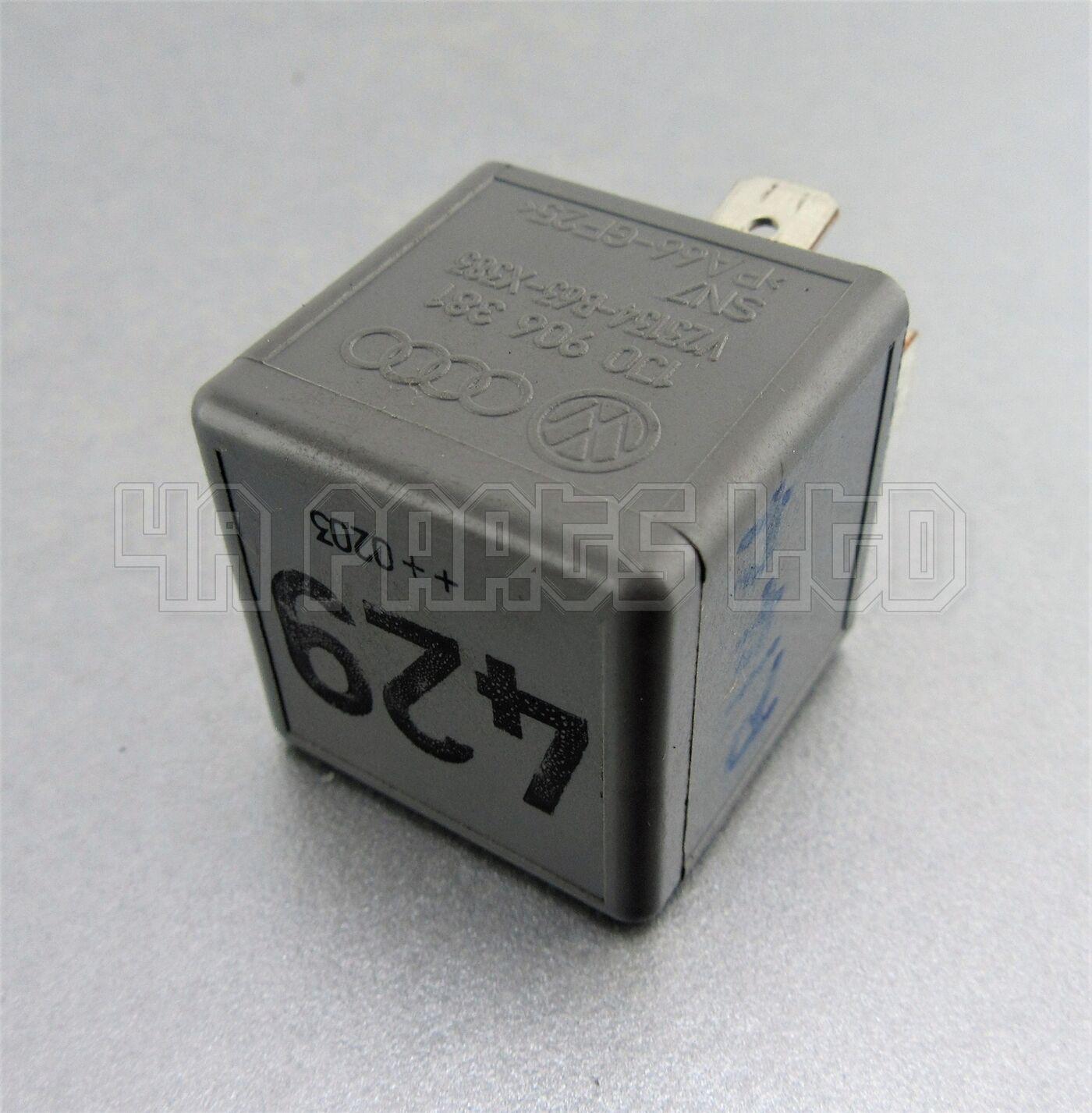 No.429 5-Pin 1J0906381 Audi VW Seat Skoda Gris relais SN7 V23134-B63-X383