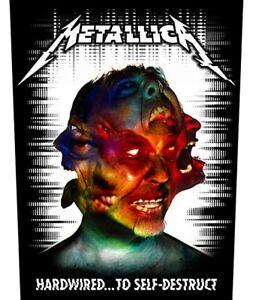Metallica Kill /'Em All giant sew-on back patch   360mm x 300mm rz