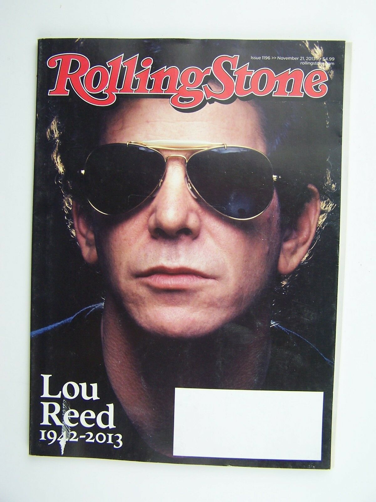Rolling Stone Magazine Issue 1196 November 21 2013 Lou
