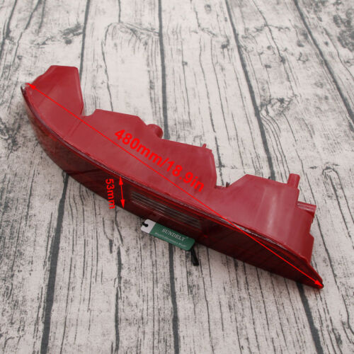 Left Side Car Lower Reflector Rear Tail Bumper Light Lamp Red For Audi Q3 12-15