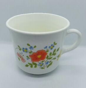 Corelle Corning Wild Flower Spring Bouquet Tea Cup Coffee Mug Ebay