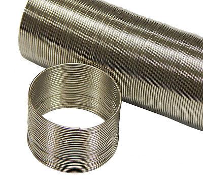 Metall Spiraldraht 2mm Windungen Memory Wire Finderringe Schmuck Basteln M109