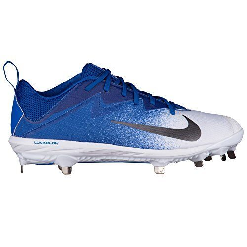 The most popular shoes for men and women Men's Nike Lunar Vapor UltraFly Pro 852696 441 Cleats White/Blue Comfortable