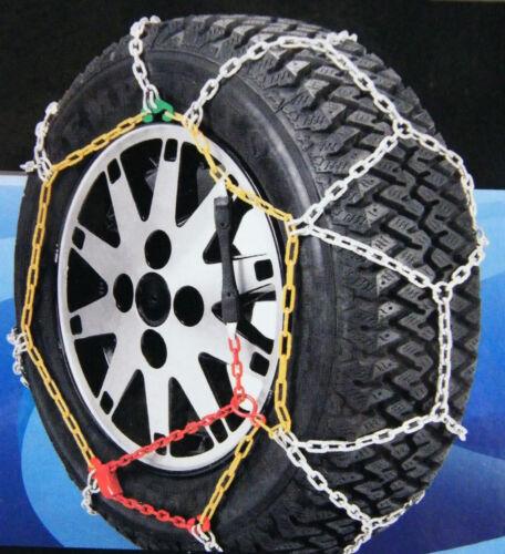 Aleteo cadenas de nieve 195//65 R 15 para automóviles con ö-norma V 5117-cadenas 809