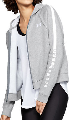 Begeistert Under Armour Rival Womens Fleece Training Hoody - Grey