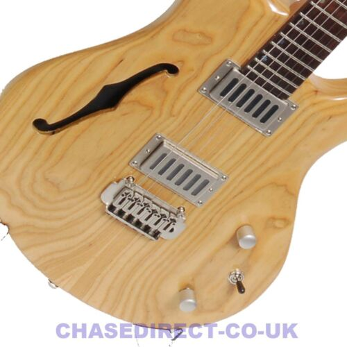 Shine SIL410 Electric Guitar Tremolo F Hole Grover Tuners RRP £399 Now £129