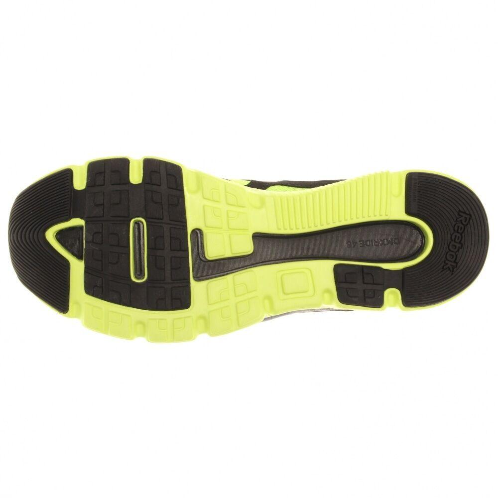 Neue reebok doppelte turbo gelbe flyer laufen männer kies gelbe turbo feder 3a1820