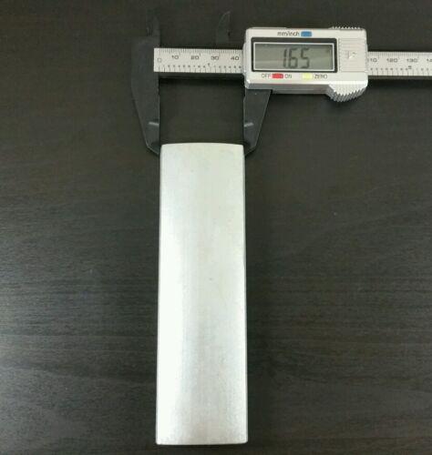 "Large Neodymium Block Motor Magnet Rare Earth N40uH Ultra High Heat 5.5/"" x 1.5/"""