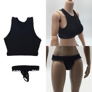 1-6-Female-Lace-Underwear-amp-Vest-for-12-034-Hot-Toys-Phicen-Female-Figure-Toys