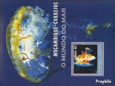 Earnest Mozambique Block172 Unmounted Mint Never Hinged 2002 World Of Marine Beautiful In Colour Africa